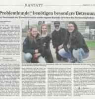 Zeitungsbericht BNN 05.04.2018 Rastatt