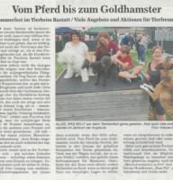 BNN Zeitungsbericht TSV Sommerfest 23.07.2018