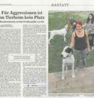 Zeitungsbericht BNN 18.07.18 Hudetrainerin TSV Rastatt-2