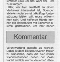 BNN Bericht-Kommentar 15.11.18 Veterinäramt bescheinigt gute Arbeit