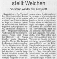 BT TSV Bericht 11.02.19 TSV stellt Weichen