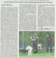 BNN Bericht 30.09.19 TSV Begenung Hunde Kommunikation