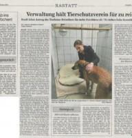 BNN Bericht 29.02.2020 Zuschuss Stadt Rastatt