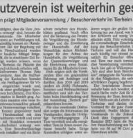 BT Badisches Tagblatt 19.10.2020 zur TSV Rastatt JHV 10-2020