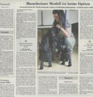 BNN Bericht 26.11.2020 Steuerfreiheit für Tierheimhunde